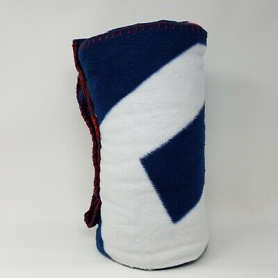 """Used, American Eagle Outfitters Throw Blanket 50"""" x 60"""" Red White Blue New for sale  Cumberland"""
