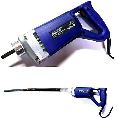1050W Vibrador Para Hormigón Cemento Ø35MM Robusto Portátil Eléctrico 1050