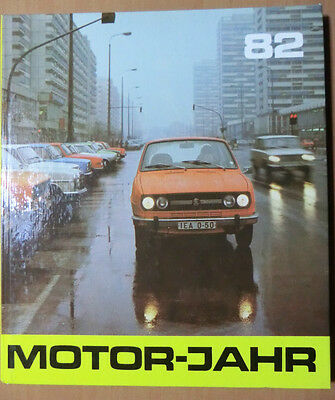 DDR Motorjahr 1982 Motorräder Zschopau Mazda 323 Obus Elektroantrieb Jelcz Tatra