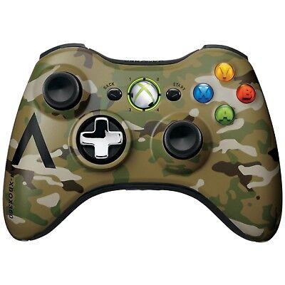 OEM Halo 4 Camo Microsoft Xbox 360 Wireless Controller Gamepad XB360 Camouflage