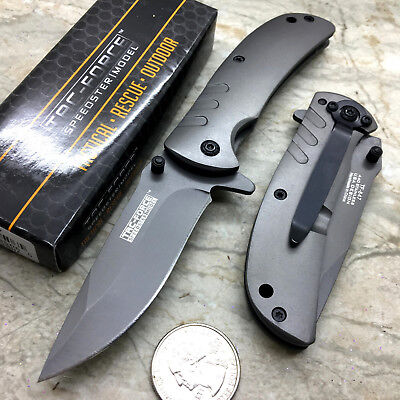 Coated Stainless Steel Blade (Tac Force Spring Open 2.75