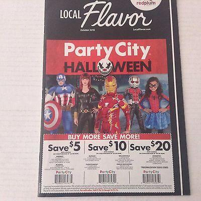 Party City Catalog Halloween (Local Flavor Catalog Party City Halloween October 2016)