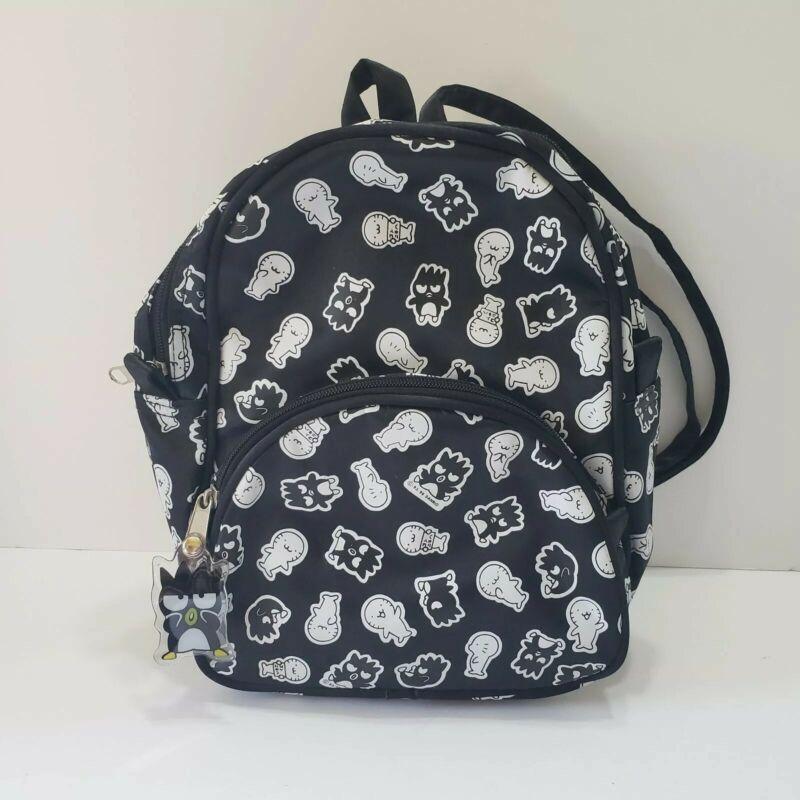 Sanrio Badtz Hana Maru Black Penguin White Seal Back Pack Bag Backpack