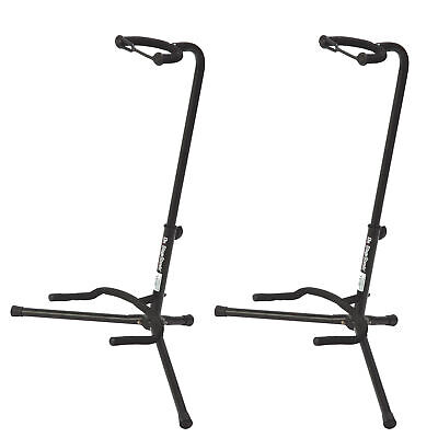 On Stage Stands XCG-4 Classic Guitar Stand (2 Pack Bundle)