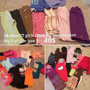 2T 24 month girl clothing lot