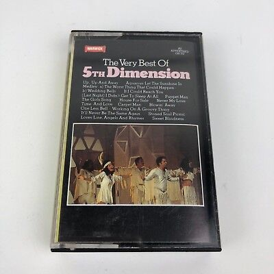 5th Dimension The Very Best of Warwick Records WW4 5114 1982 Cassette