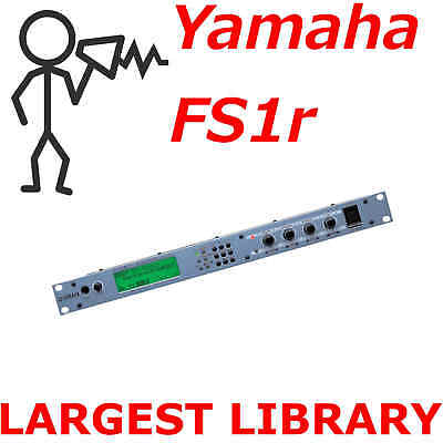 20,000+ Yamaha FS1r Sound Library Programs Patches Voices - D0wnload, used for sale  Shipping to India