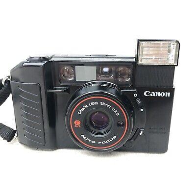 CANON AF35M II 35mm Film Camera Auto Focus 38mm F/2.8 aka SureShot & Autoboy r1