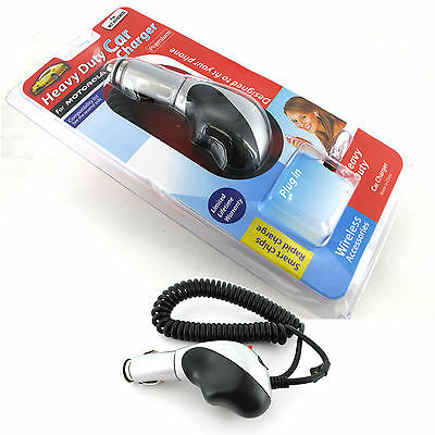 50x Wholesale Heavy Duty Car Charger Wholesale for Motorola  V8 V9