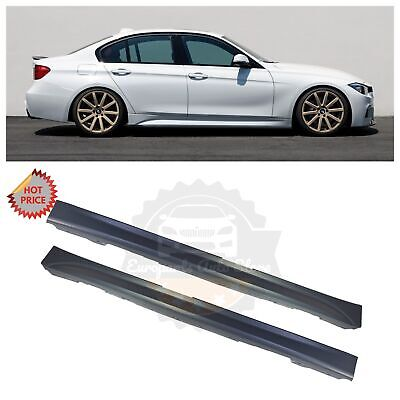 12 18 F30 F31 MSPORT MTECH SIDE SKIRTS SET PAIR FOR ALL BMW 3 SERIES SEDAN WAGON