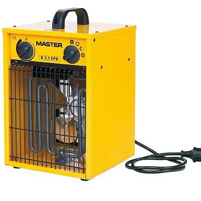 Master Generatore aria calda elettrico ventilatore calore riscaldatore B3,3EPB