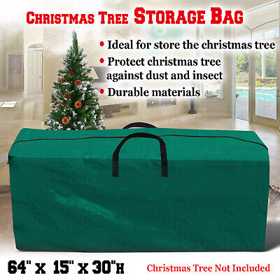 Large Heavy Duty Artificial Christmas Tree Storage Bag PE Container Box 5' to 9' Artificial Tree Storage Bag