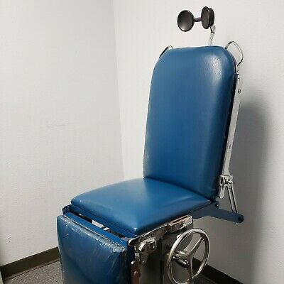 Vintage Operating Table Medical Exam Or Tattoo Chair Adjustable
