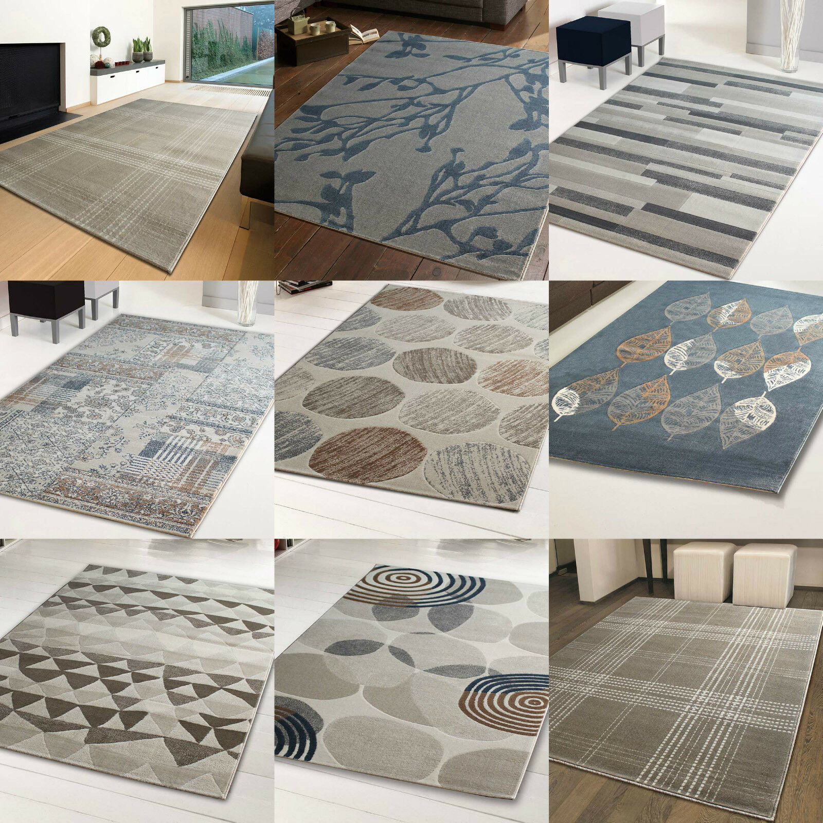 cheap modern traditional soft quality rugs new small