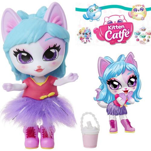 Jakks Series 1 VERONICAT MEW Kitten Catfe Doll Mystery Purrista Girls Blind Bag