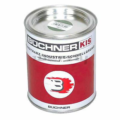 Büchner Erbedol Kunstharz Grundierung Rostschutz graugrün 750ml 13,20€/L