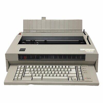 Ibm Wheelwriter 6 Typewriter Key Functions Tested Needs New Ribbon