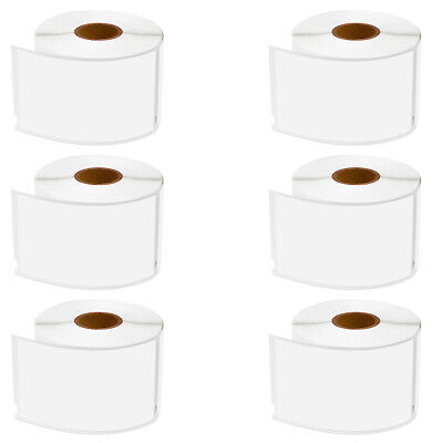 6 Roll Address Shipping Labels For Dymo 30256 Labelwriter 400 450 4xl 2.3x4
