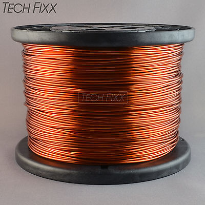 Magnet Wire 16 Gauge Enameled Copper 1235 Feet Coil Winding 9.83 Lbs Essex 200c