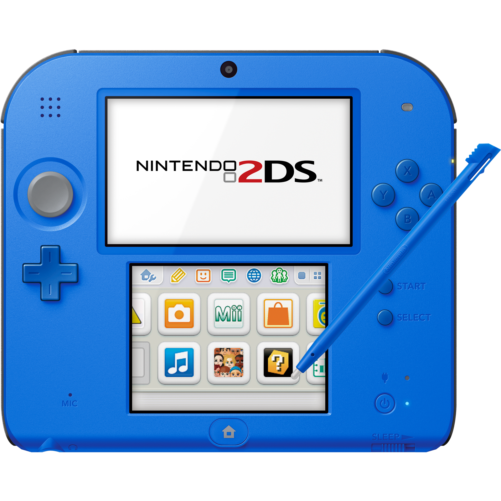 Nintendo 2ds Electric Blue 2 Factory Refurbished By