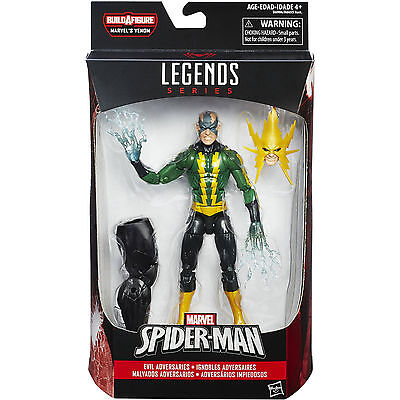 Marvel Legends Spider Man Electro 6  Action Figure Space Venom Baf New Sealed