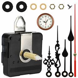 DIY Wall Quartz Clock Movement Mechanism Replacement Tool Parts Hands Set Silent