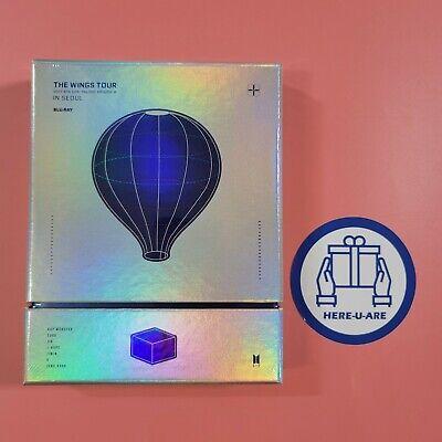 BTS NEW Wings tour Bluray SEALED 7 Photo card (Postcard) full set package rare