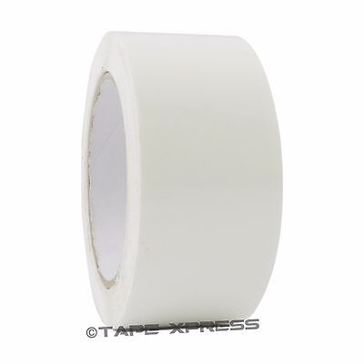 2 X 110 Yd White 1 Roll Packaging Packing Tape Carton Sealing - Free Shipping