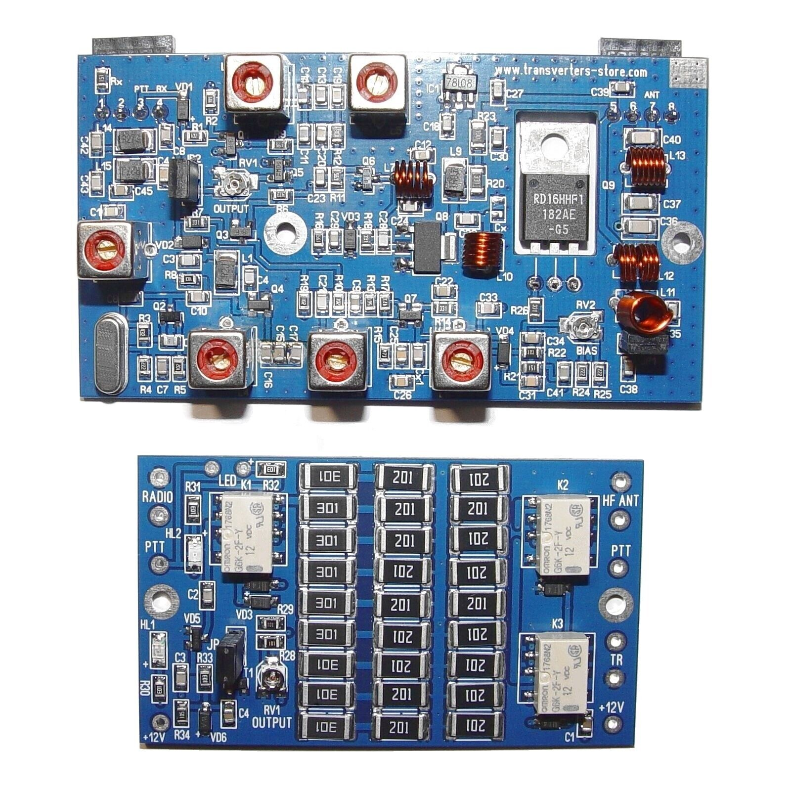 Transverter KIT on 70 mhz to 28 mhz HF VHF UHF 10 W
