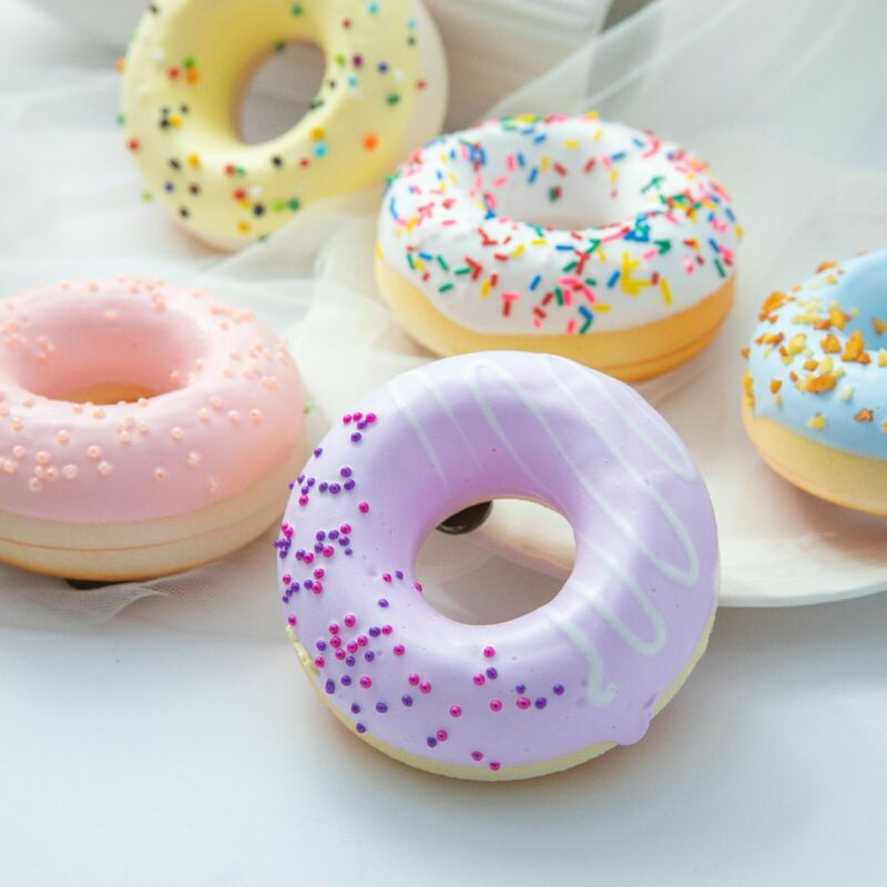 Artificial Donuts fake Bread Decoration Home Display Wedding fridge magnet