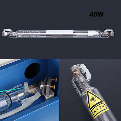 40w Co2 Laser Tube For Laser Engraving Cutting Machines 700mm 50mm Dia