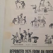 "Schoenhut's "" Humpty Dumpty "" Circus Toy Flyer 1975 reprint from original"