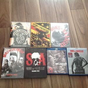 Serie complete son's of anarchy (ENGLAIS)