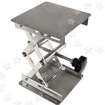 10 X 10 CM Stainless Steel Lift Countertop Lifting Platform Jack Lab Laboratory