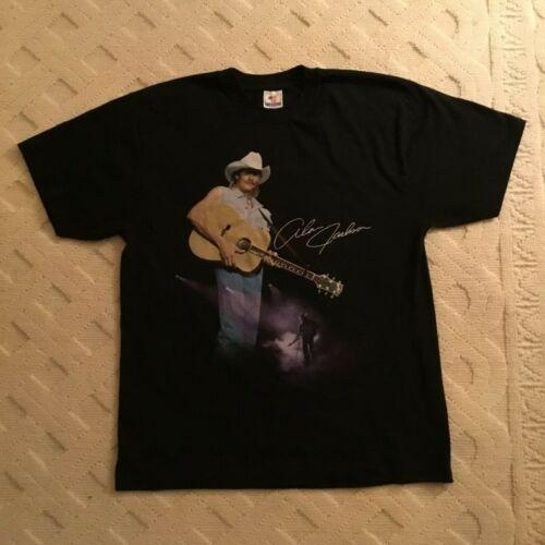Vintage 1998 Alan Jackson T-America Country Music Tour Black T-shirt Size XL