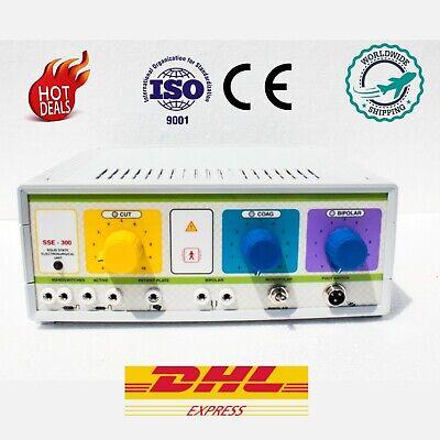 Analog 300watt Electrosurgical Unit Diathermy Machine Cautery Electrosurgery Scg
