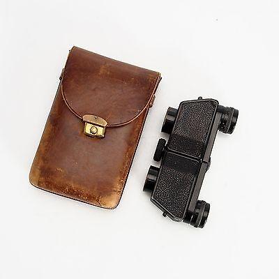 AS IS Vintage Zeiss Jena Telita 6 x 18 Compact Moller Prism Binoculars AS-IS