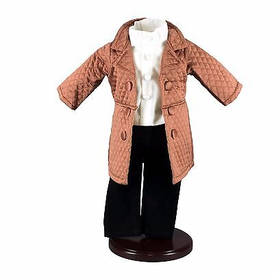 """18"""" Doll Clothes Outfit fits American Girl Clothing:  Pants, Jacket, Shirt #MAS"""