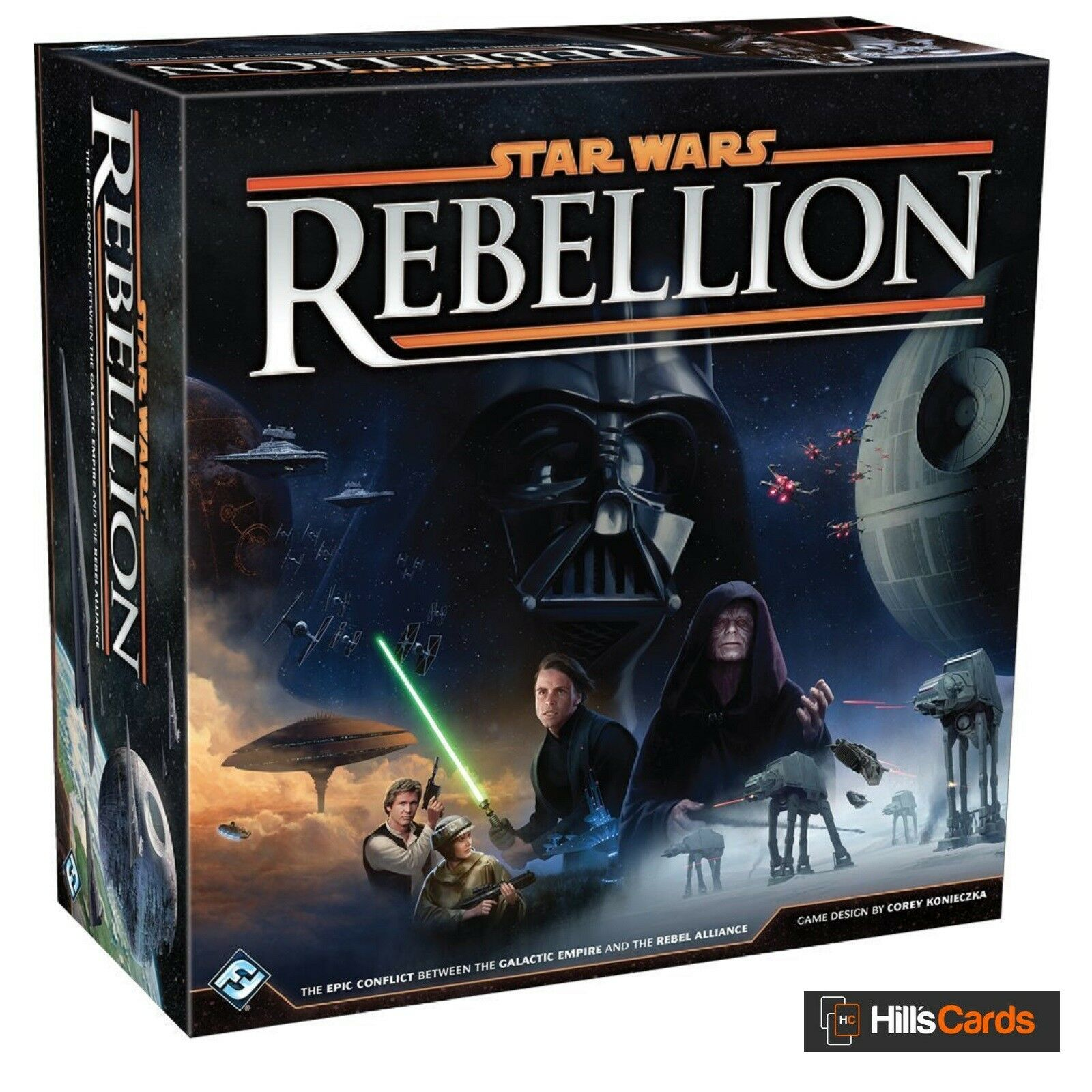 Star Wars Rebellion Board Game By Fantasy Flight Games EBay - Board game design software