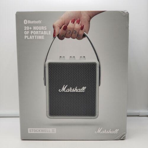 Marshall - Stockwell II Portable Bluetooth Speaker - White