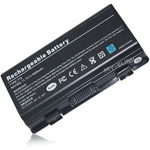 For ASUS BATTERY X51 T12 A32-T12J 90-NQK1B1000Y Laptop 11.1V 4800mAh Li-ion Pack