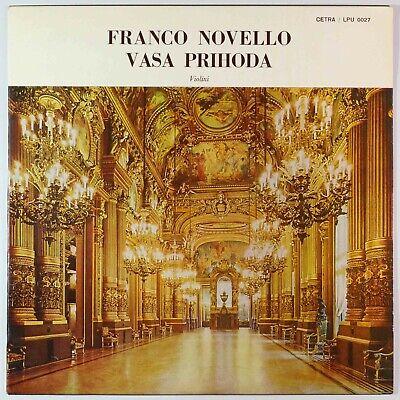 Rare! Vasa Prihoda Plays Bach, Sarasate, Paganini / Italy Original / Listen!