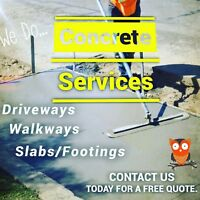 Affordable concrete services ALL KINGS CONSTRUCTION
