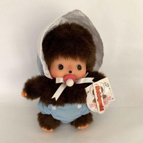 "Sekiguchi Bebichhichi Medium 8""  Size Plush Doll BBCC Boy Baby Blue Diaper"