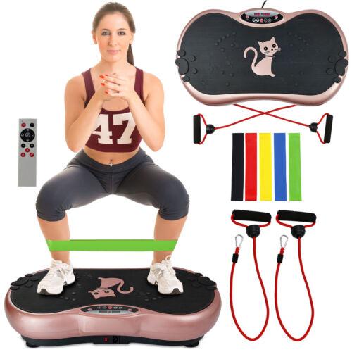 Power Massager Vibration Platform Plate Workout Machine Slim Exercise Fitness