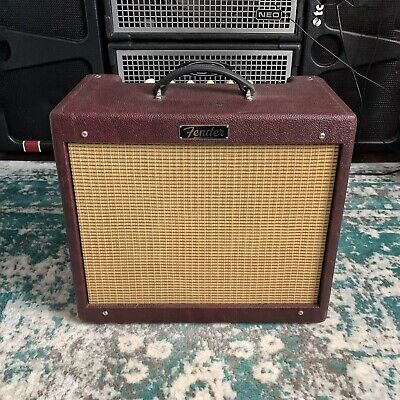 Fender Blues Junior III Limited Edition Wine Red