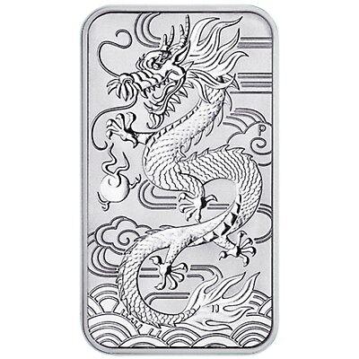 Australien 2018 Drachen 1oz 999,9er Silber 1 Unze