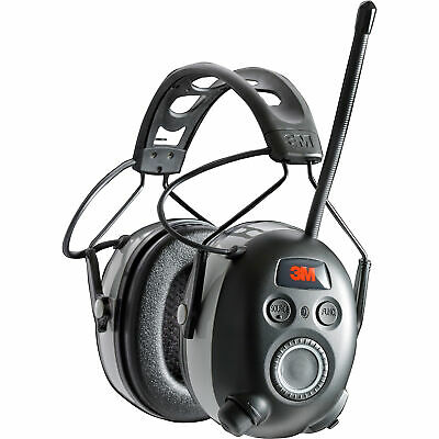 3M WorkTunes Wireless Hearing Protector with Bluetooth Techn