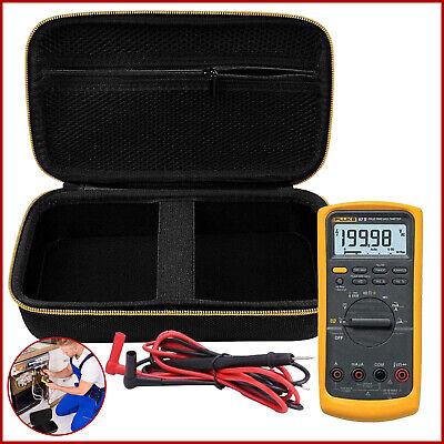 Fluke Multimeter Carrying Case Protective Fluke 87-v Hard Digi Digital Black New