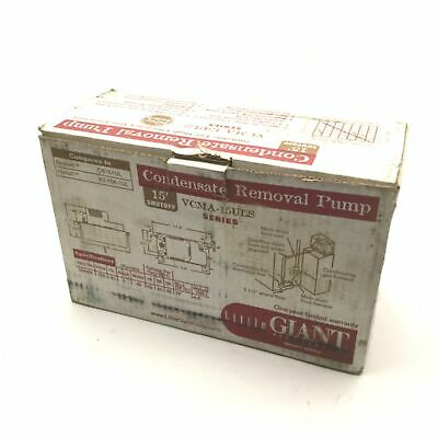 Little Giant Vcma-15ul Automatic Condensate Removal Pump 150hp 115vac 60hz